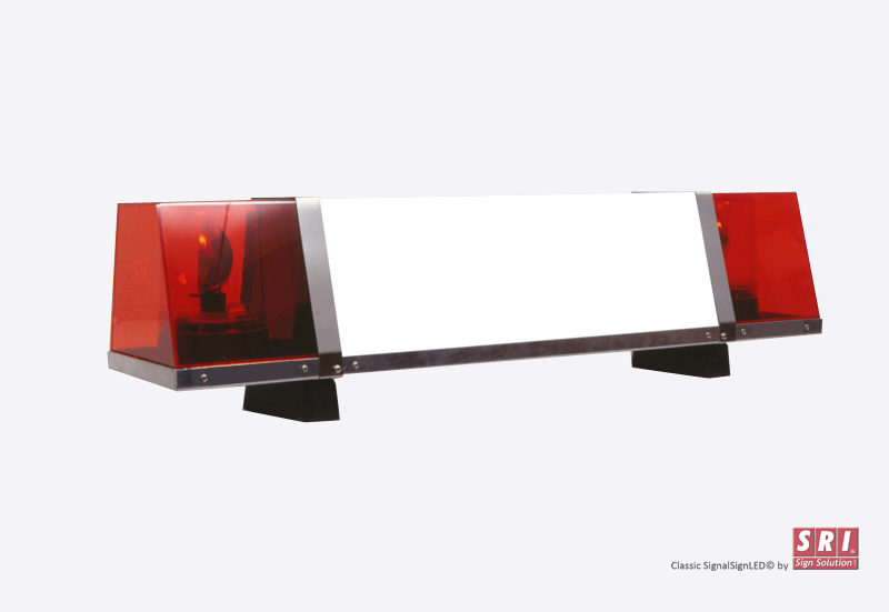 Classic SignalSignLED® lysskilt med rotorblink