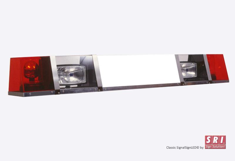 SRI Signalskilt med rotorblink og fjernlygter - til lastbiler