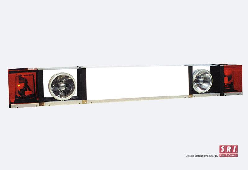 SRI Signalskilt med rotorblink fjernlys og parkeringslys