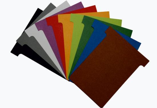 T-kort i specialfarver