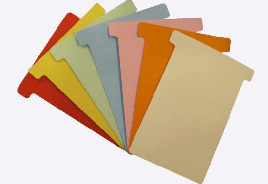 T-kort i mange farver og størrelser