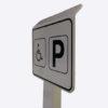 Parkeringsskilt til handicappede eller gæster