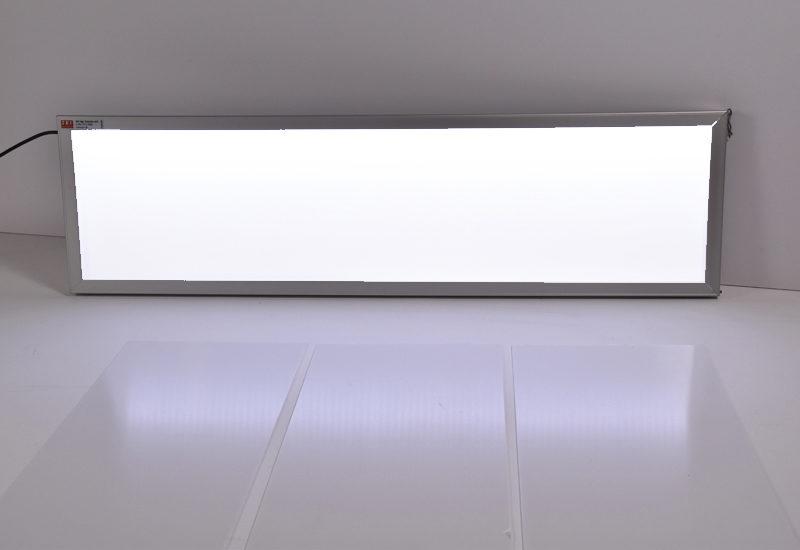 TripleSignLED® lysskilt med 3 hvide fronter