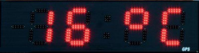 Temperatur display med LED