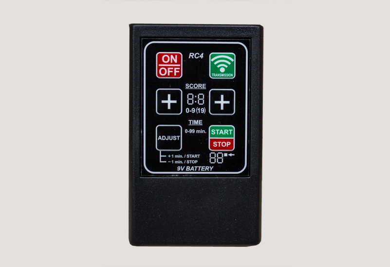 Remote Control - MaxiOne scoreboard