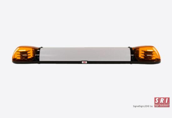 Signalskilt med LED flash i siderne