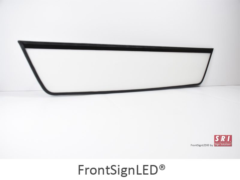 FrontSignLED lysskilt - illuminated sign - for trucks